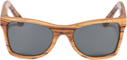 Wood Stock Wayfarer Zebrano